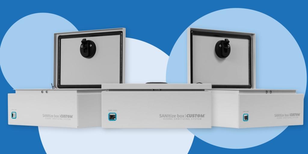 SANItize box система за дезинфекция