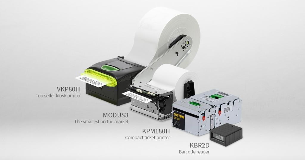 Киоск принтери на Custom