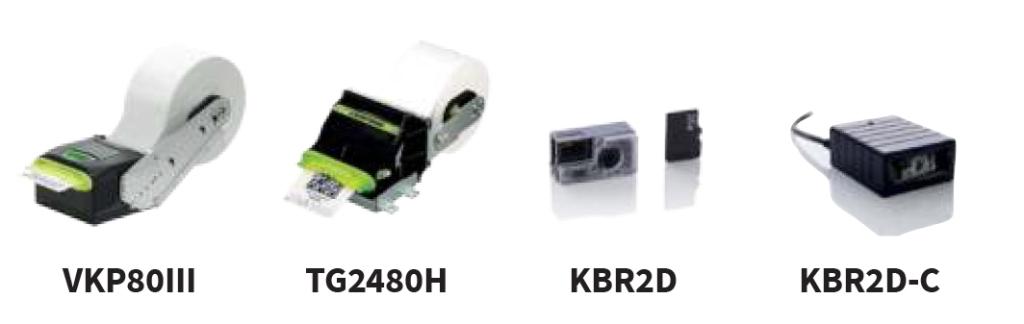 Киоск принтери и киоск скенери