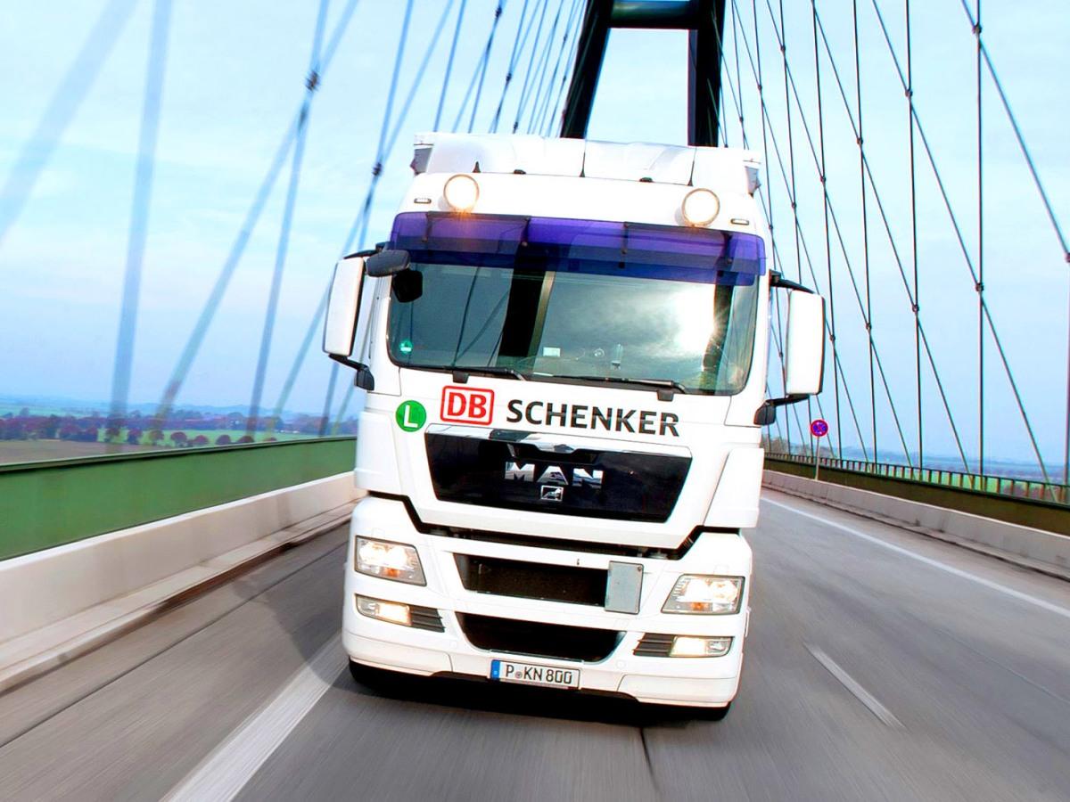 DB Schenker тир в движение