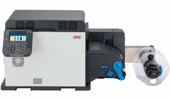 Цветн етикетен принтер Pro 1050 на OKI