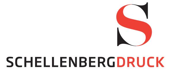 Лого на Schellenberg Druck, семеен бизнес за печат на пликове