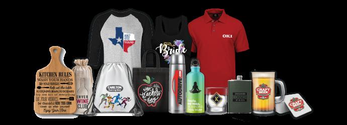 Тениски, чанти, дъски за рязане, чаши, термоси, бутилки и други, брандирани с термотрансфер с графичния принтер на OKI Pro9541WT