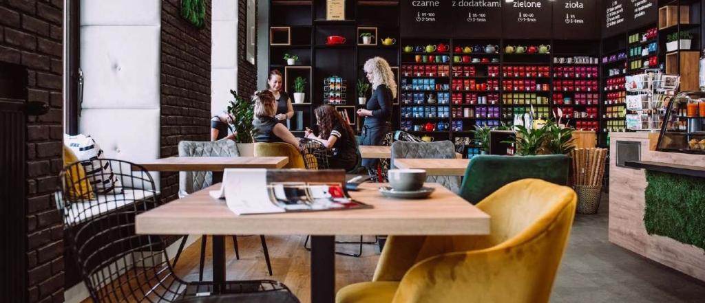 Tea Club, заведение за кафе и чай