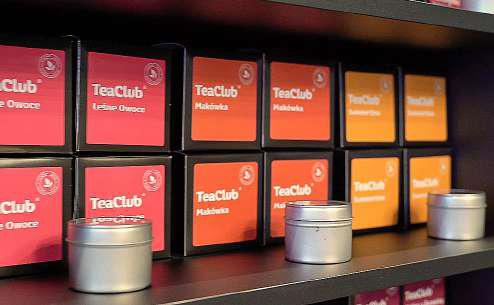 Tea Club, производител на кафе и чай